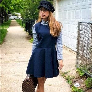 Schoolgirl dress Preppy look